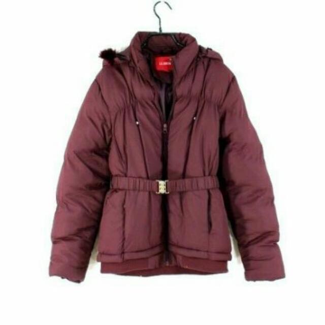 (降價含運)LE GRENIER酒紅瘦腰外套#外套特賣