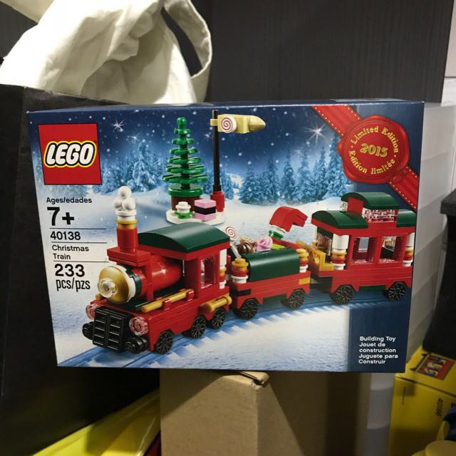 Lego 40138 Christmas Train 2015 Limited Edition, Toys & Games ...