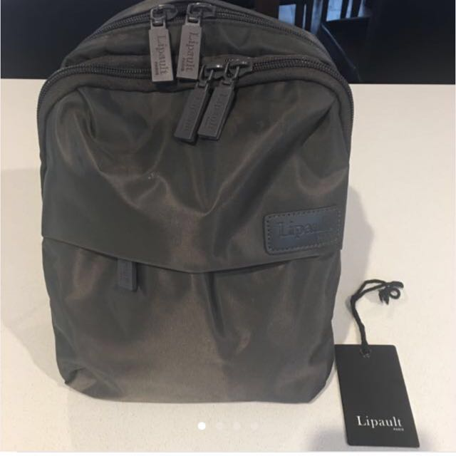 Lipault Paris nylon backpack