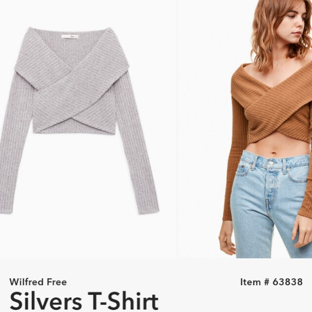 LOOKING FOR aritzia silvers T-shirt