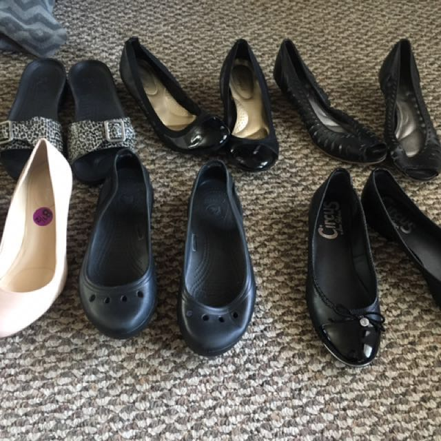 Lot Of Shoes/boots 8-9