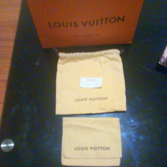 Louis Vuitton Authentic Dust Bag' Authentic Card & Paper Bag