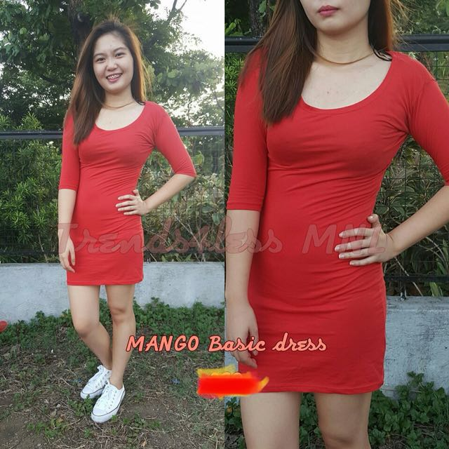 MANGO BODYCON DRESS