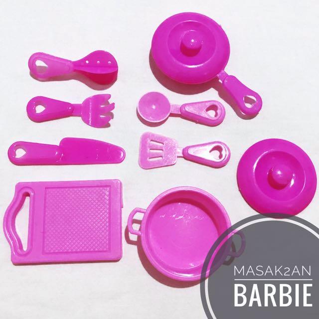 Masak Masakan Barbie Bayi Anak Mainan Baby Walker Di Carousell