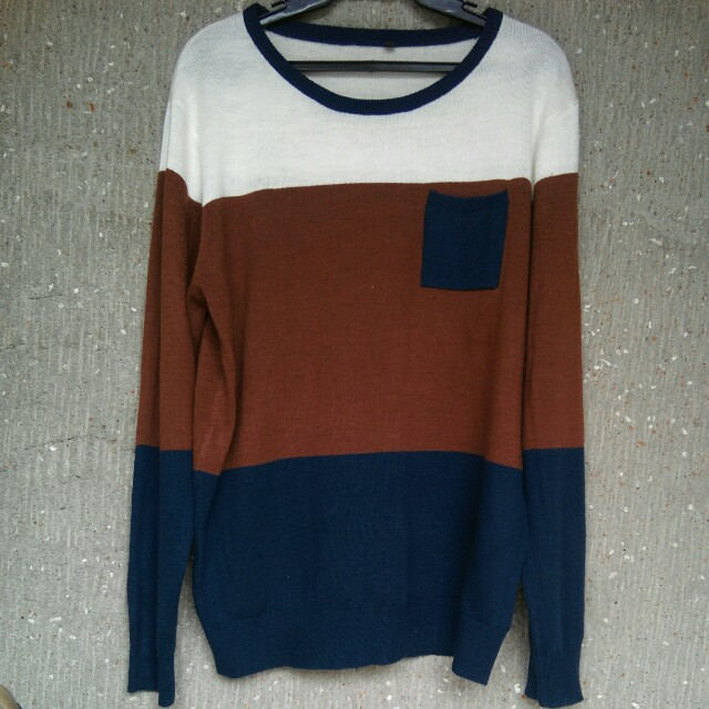 Max 3-Color Knitted Pullover