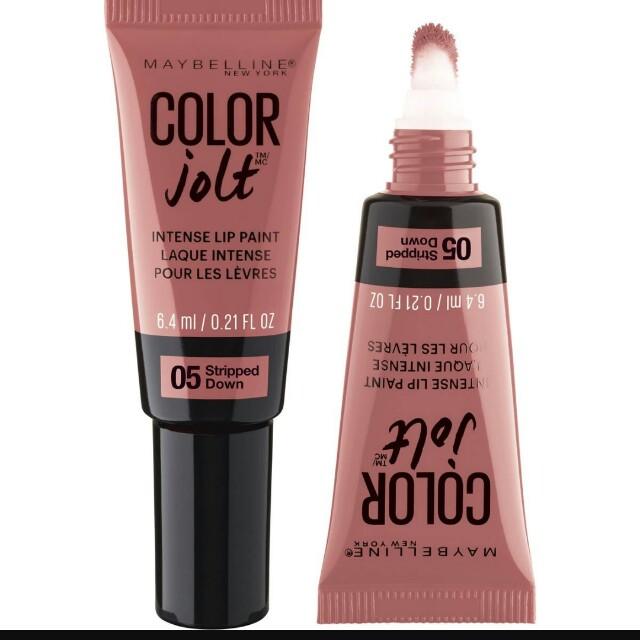 Maybelline intense jolt lip paint