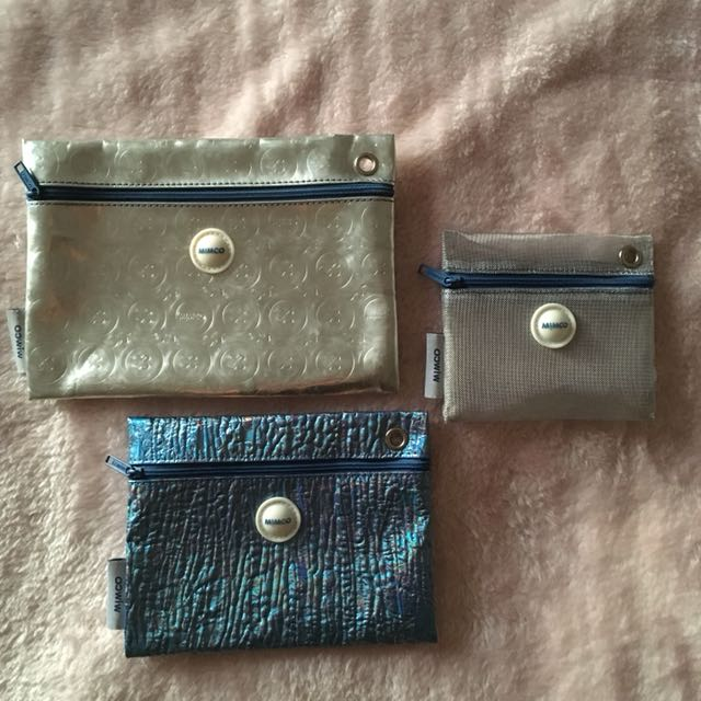 MIMCO 3 Piece Toiletries Set