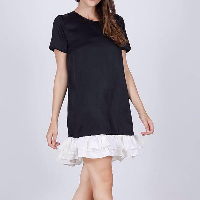 Mini Dress Ruffle