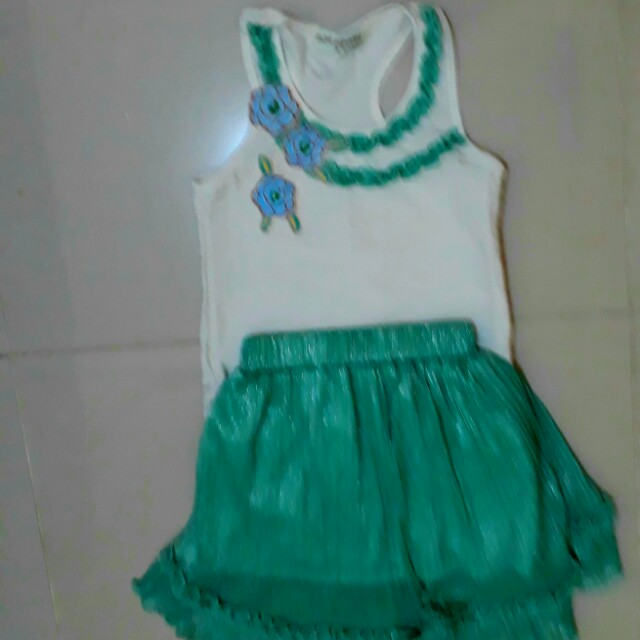 Miss Cupcake Blouse and Skirt