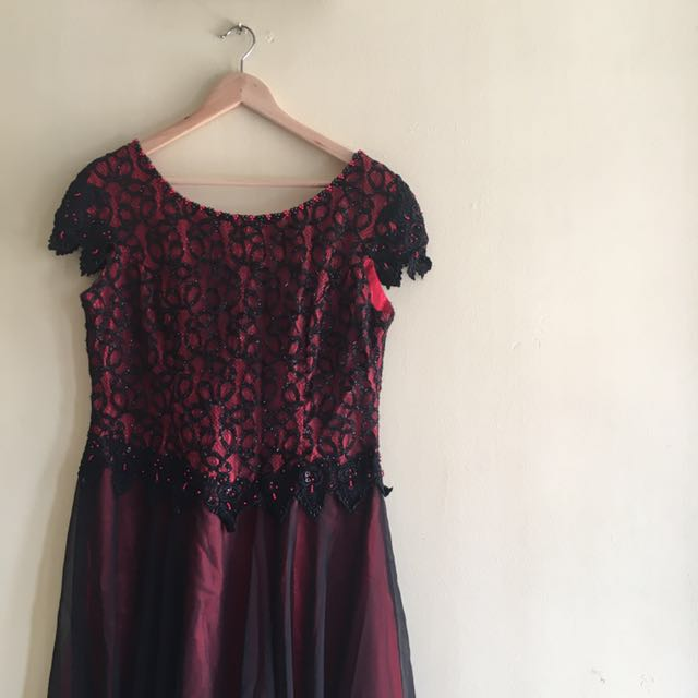 Mom Party Gown Dress