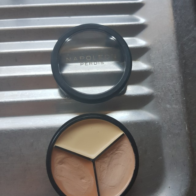 Napoleon Napolean concealer trio three tried once