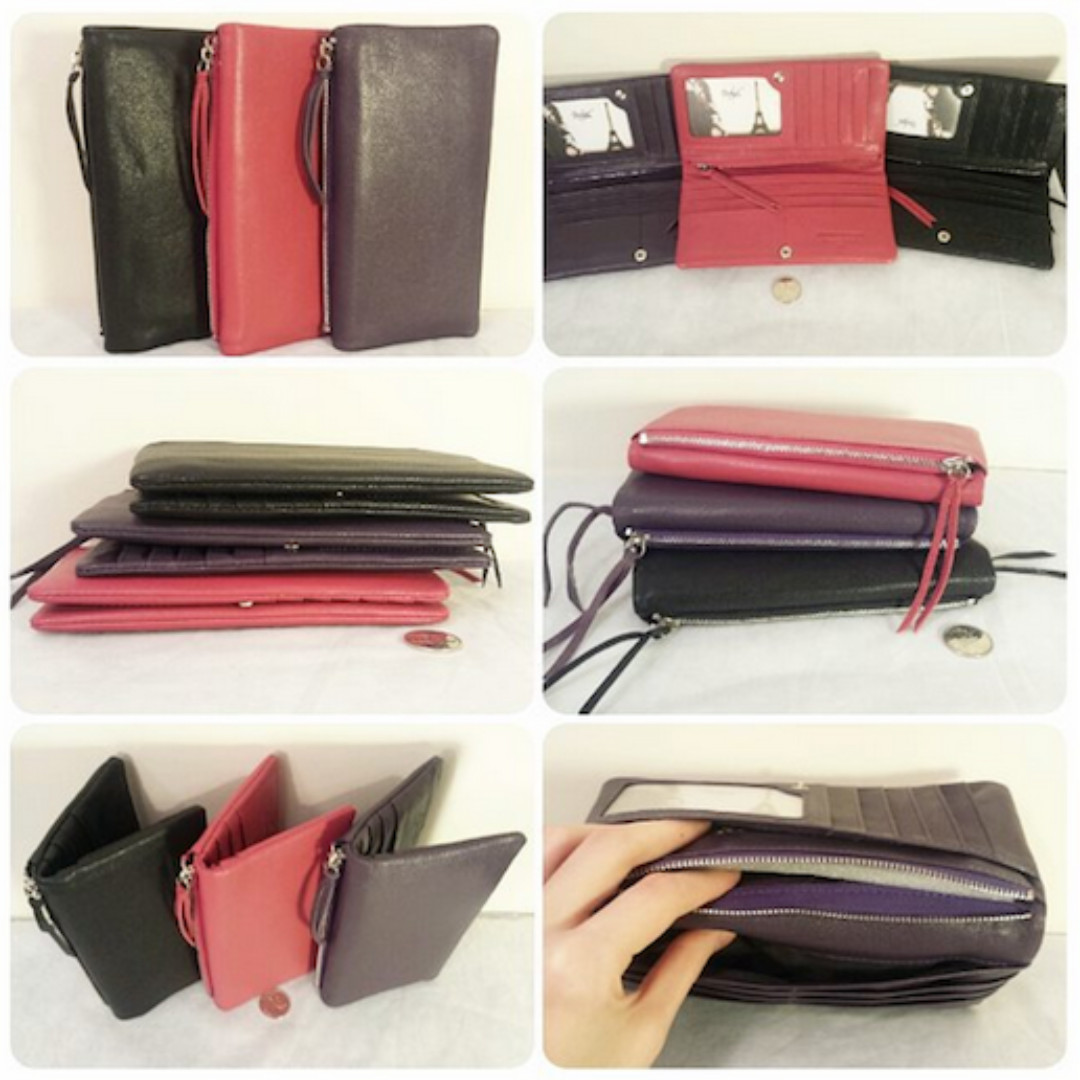 NEW Gorgeous Cowhide Leather Wallets