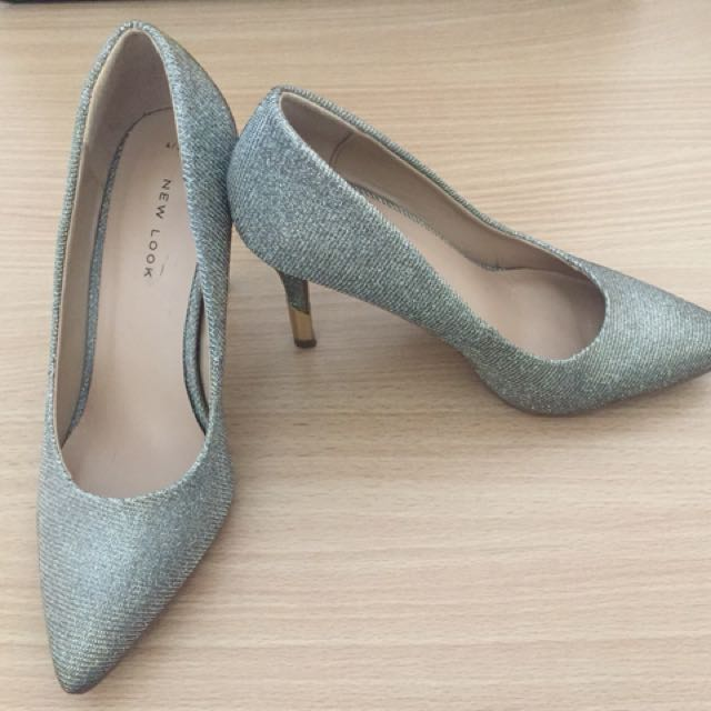 New Look Shimmery heels