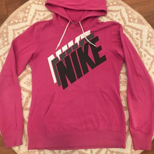 Nike pink hoodie