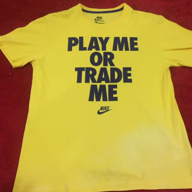 Nike yellow tshirt