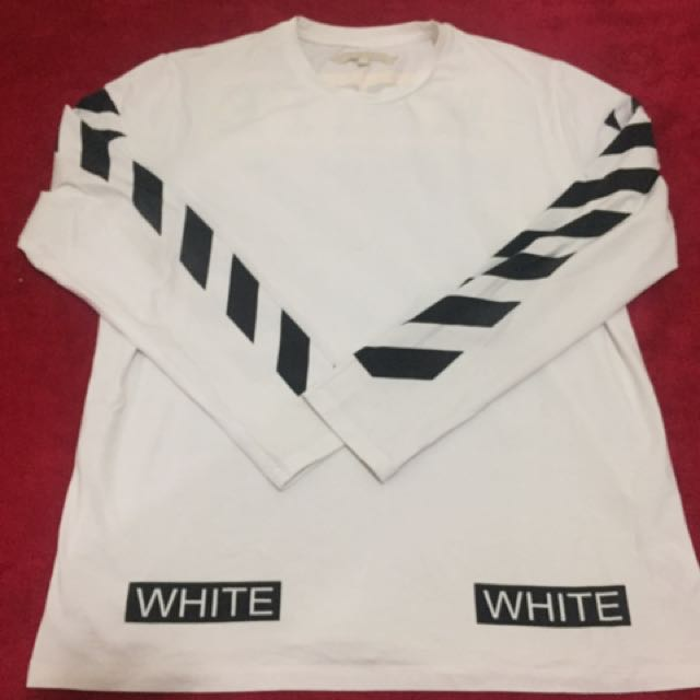 Off White long Sleve
