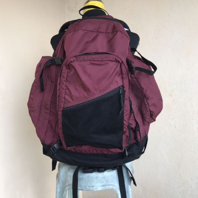 Oversized backpack