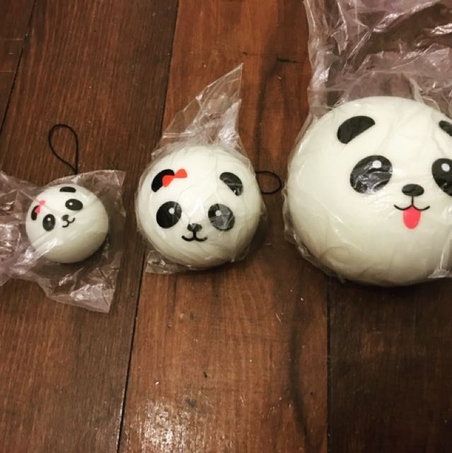 Panda Bun Family