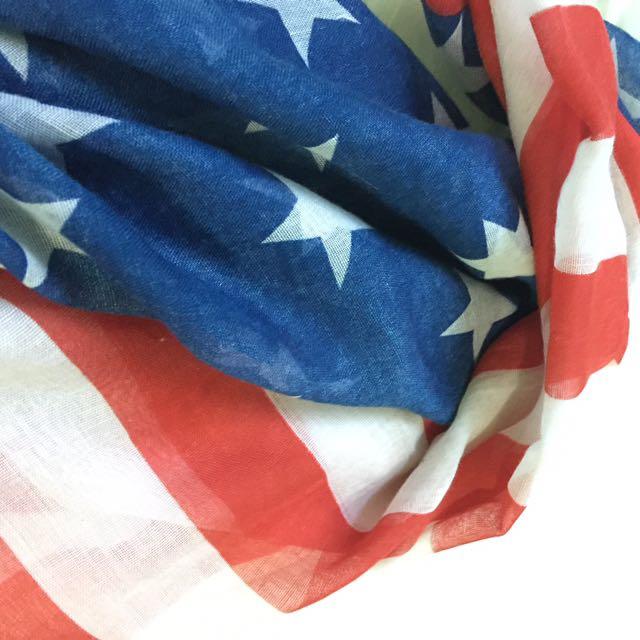 Pasmina american flag