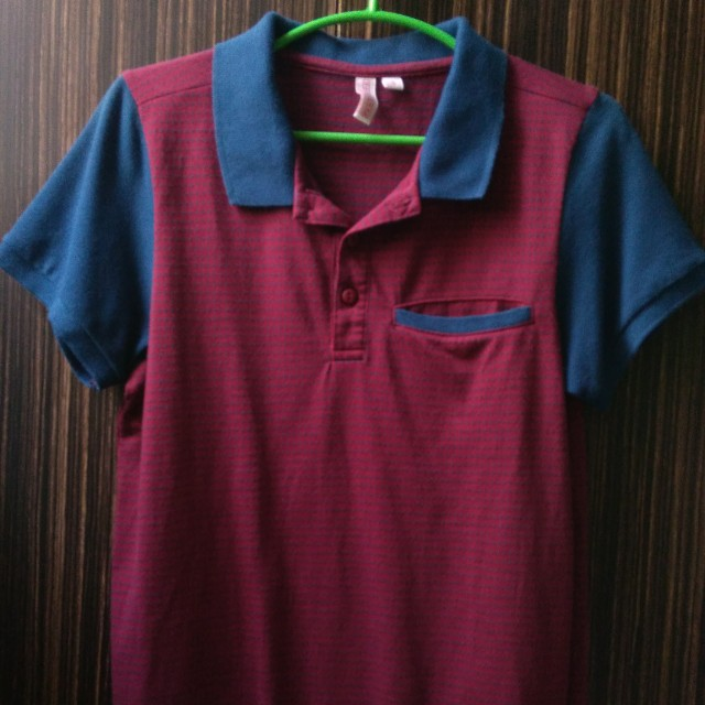 Penshoppe Red Polo Shirt