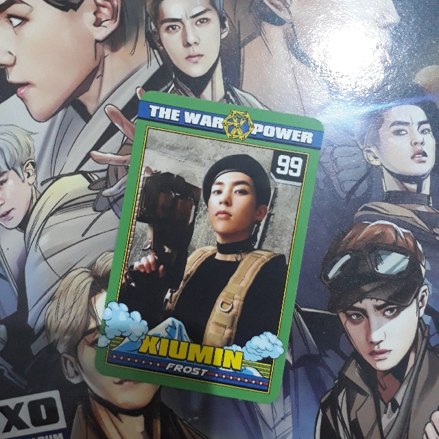 Photocard Exo Xiumin Power