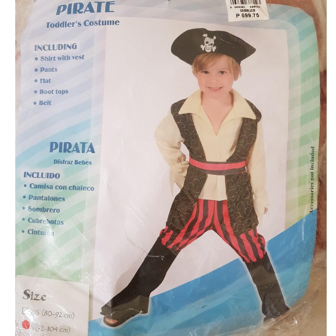 Pirate costume (boy)