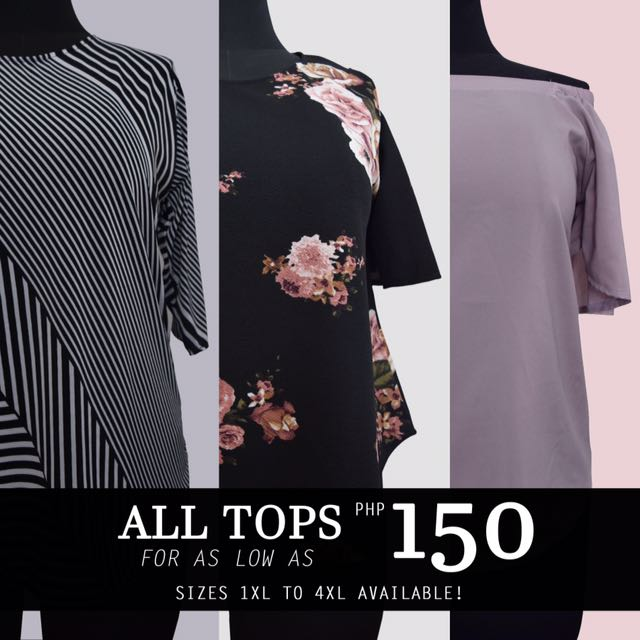 Plus size top (fits 2xl to 4xl)