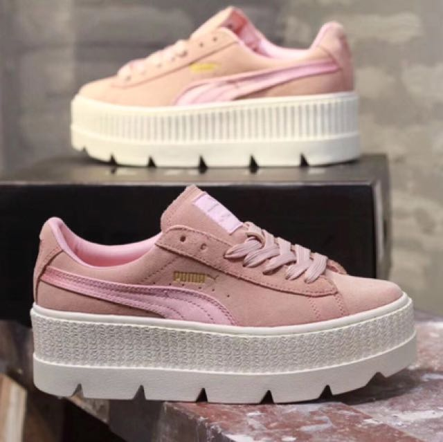 check out aafe5 7e7d2 PO] Puma x Fenty Cleated Creeper Suede, Bulletin Board ...