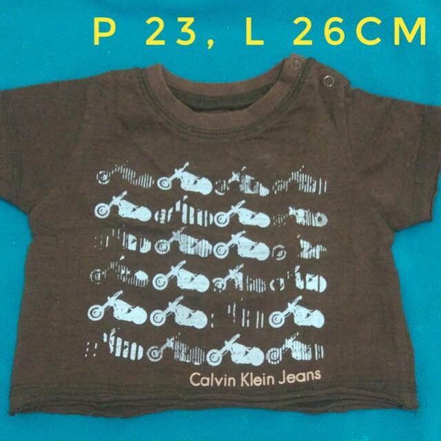 [Preloved | Second] Kaos Tshirt Baby Boy 3-12m