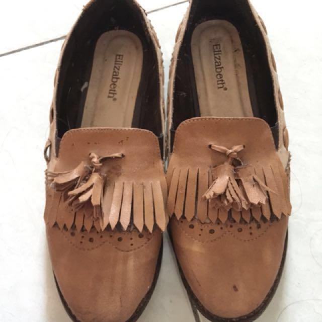 preloved flatshoes elizabeth