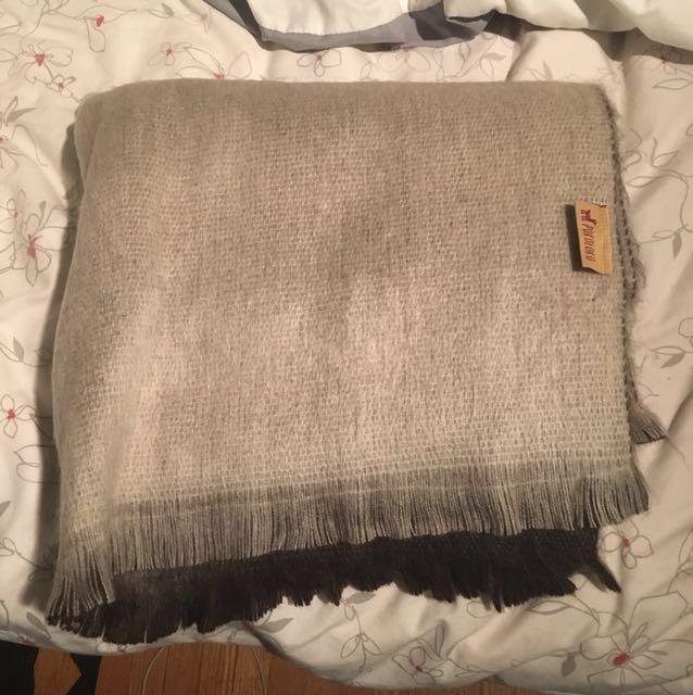 PRICE DROP: 100% Alpaca Blanket Scarf