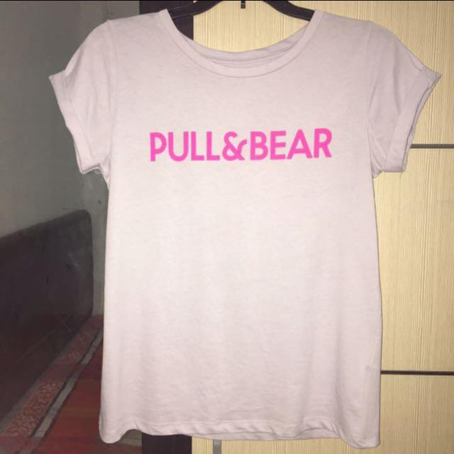 Pull & Bear Print T-Shirt