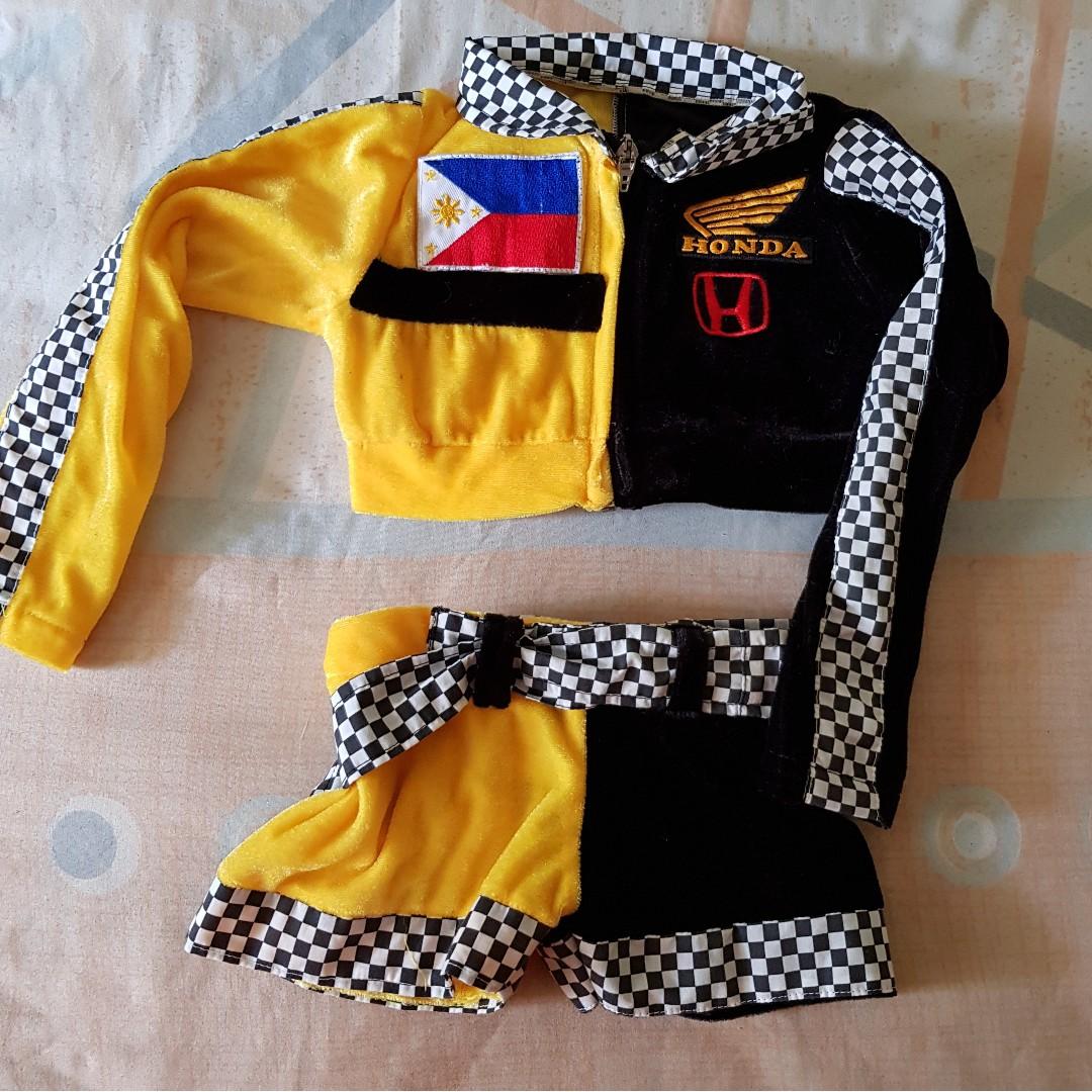 Racecar costume for girls 2T