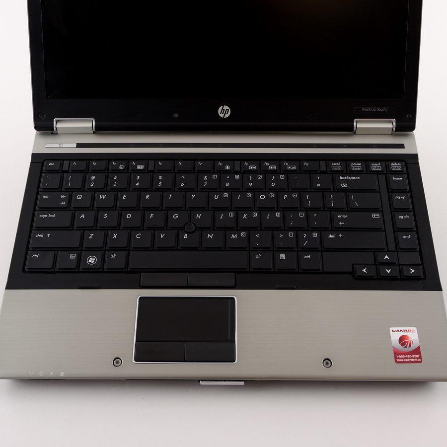 "Refurbished HP Elitebook 8440P i5 520M 2.4Ghz 8GB ram 128GB SSD Win10 Home DVDRW 14"" Warranty"