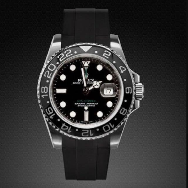 Rolex Submariner Rubber Strap Rubber strap fo...