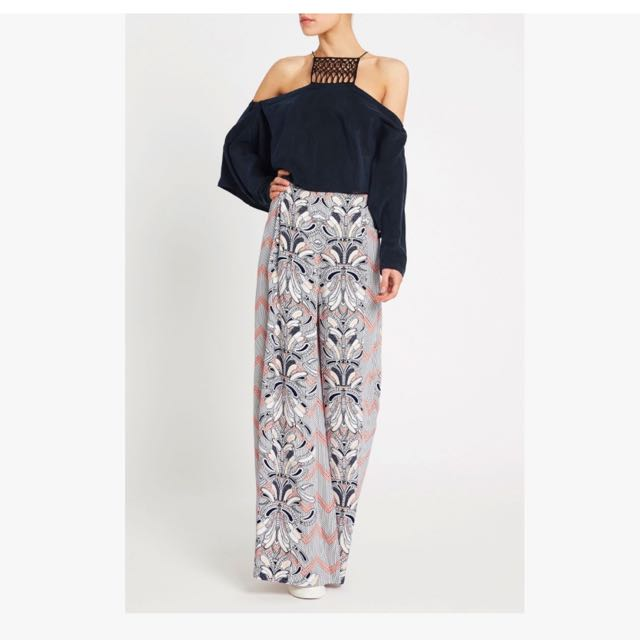 Sass And Bide Pattern Pants
