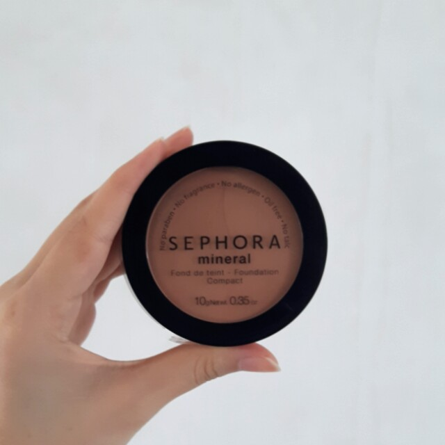 NEW Sephora mineral compact powder