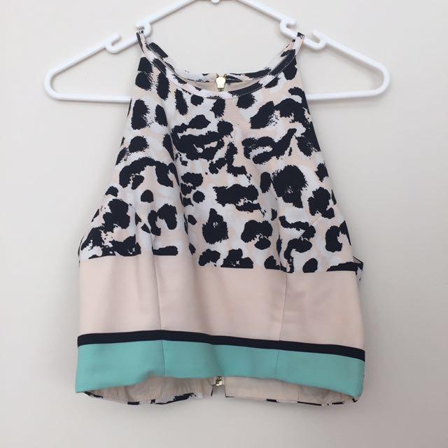 Shona Joy Crop Top Size 10