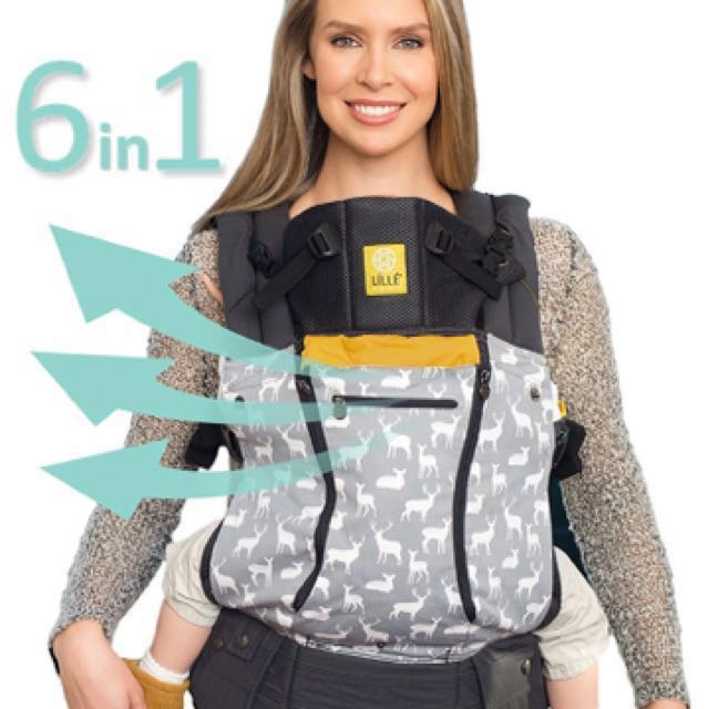 ergonomic baby and child carrier by lillebaby