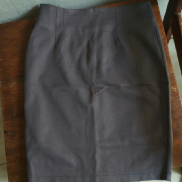 skirt grey (office look)