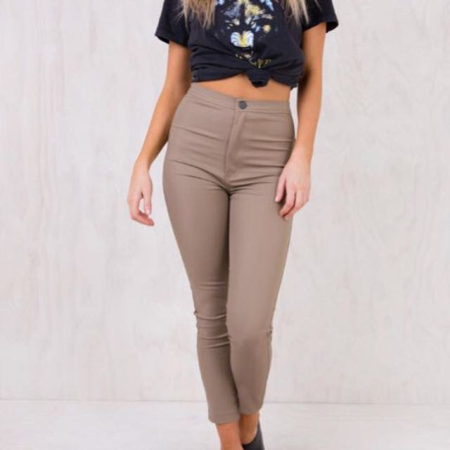 Toby Heart Ginger • Nude Pants