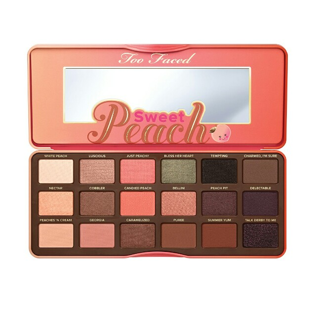 Too Faced Peach Eyeshadow