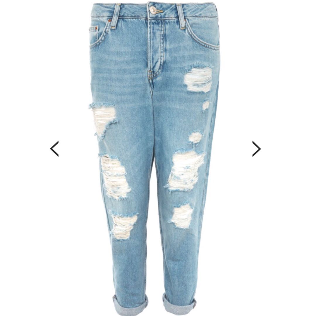 Topshop Hayden Ripped Jeans