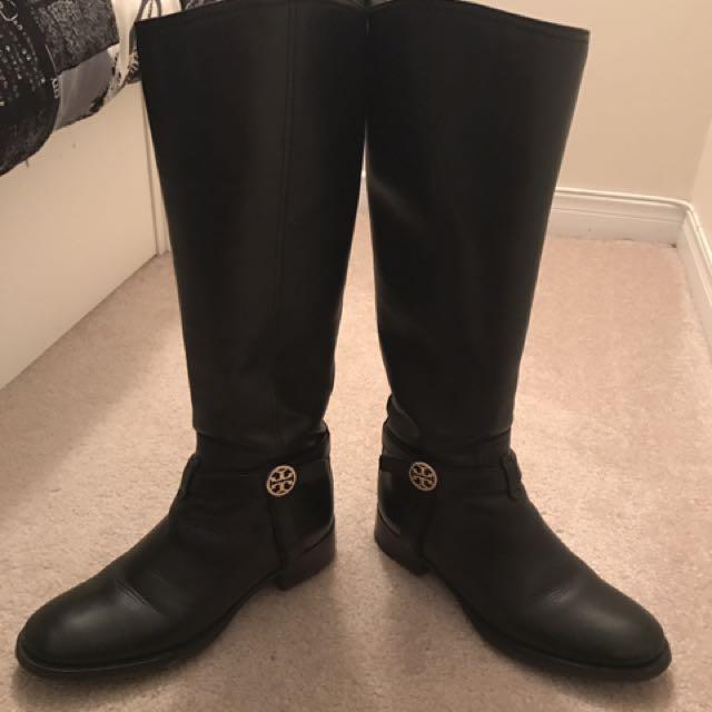 Tory burch Bristol riding boots