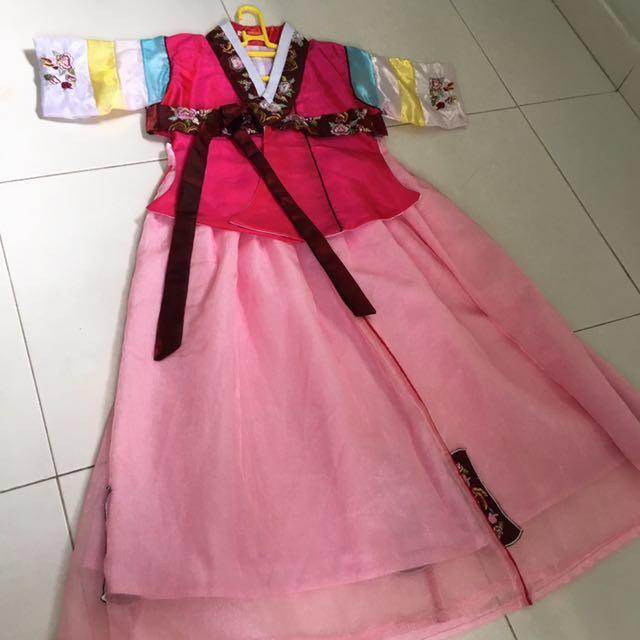 Traditional Korean Costume / Hanbok / Dress