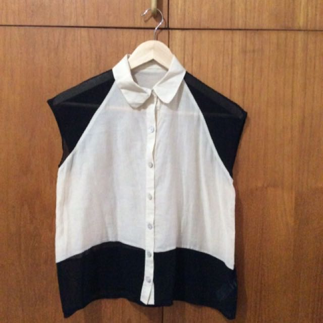 Two tone top