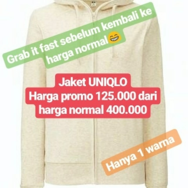 Uniqlo 1 warna