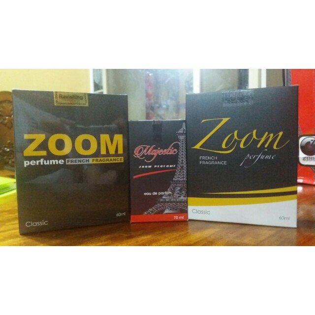 Zoom Perfume French Fragrance