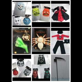 Halloween 🎃 面具, 衫, 配飾