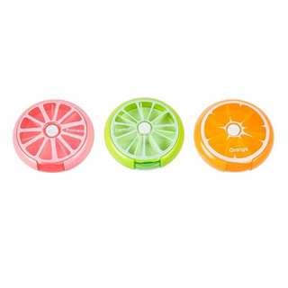 [ BRAND NEW] Fruit Revolving Pills/Sweets Storage Box